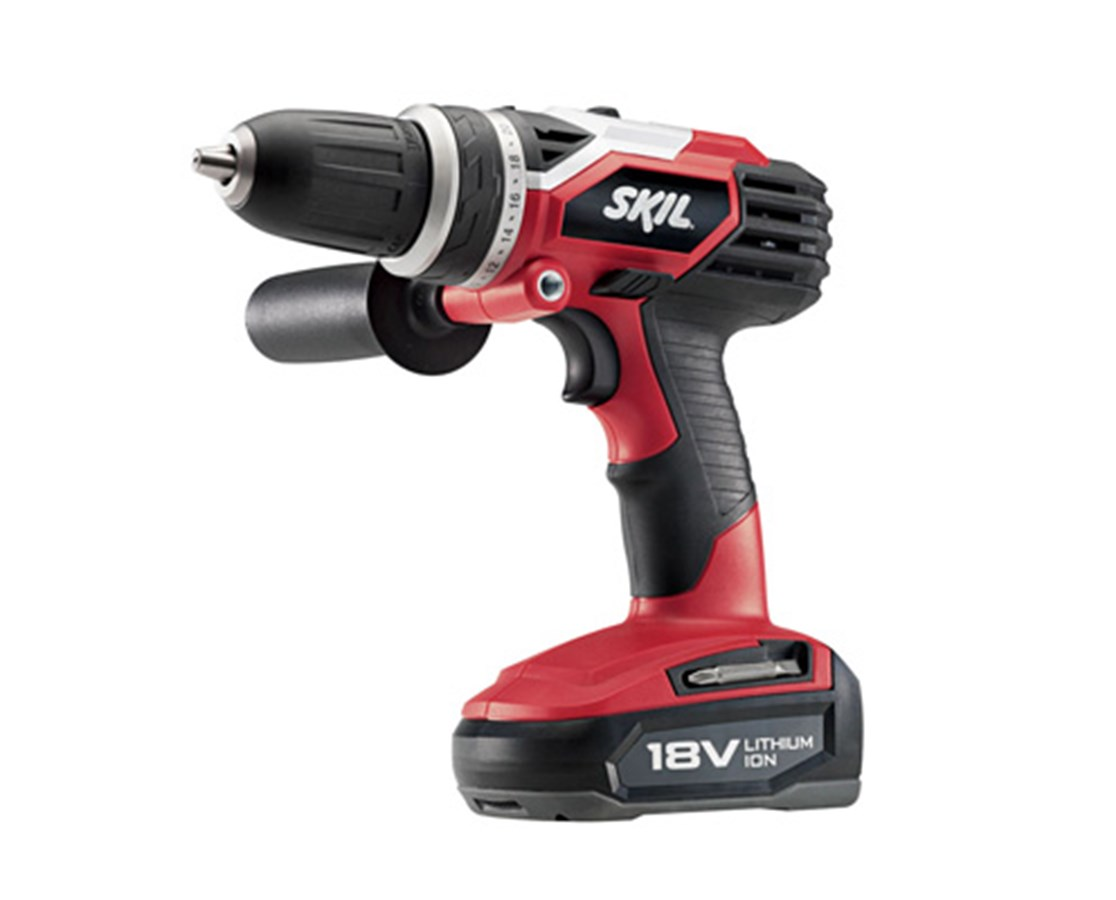 "Skil 2898LI-02 18V Cordless Lithium Ion 1/2"" Drill/Driver, 2 Speed, 1 Battery, Charger, Bag SKI2898LI-02"