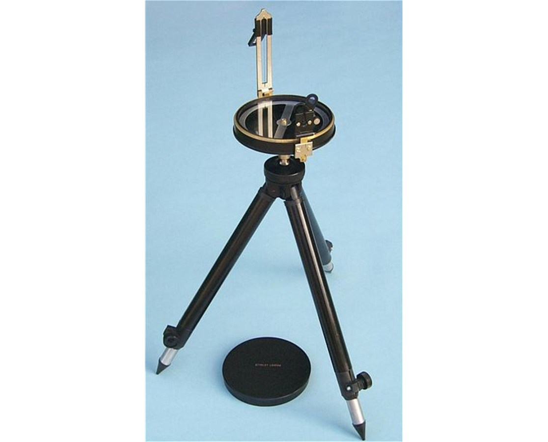 Brass Fully Functional Prismatic Surveying Compass on an Aluminum Tripod SLBFFP