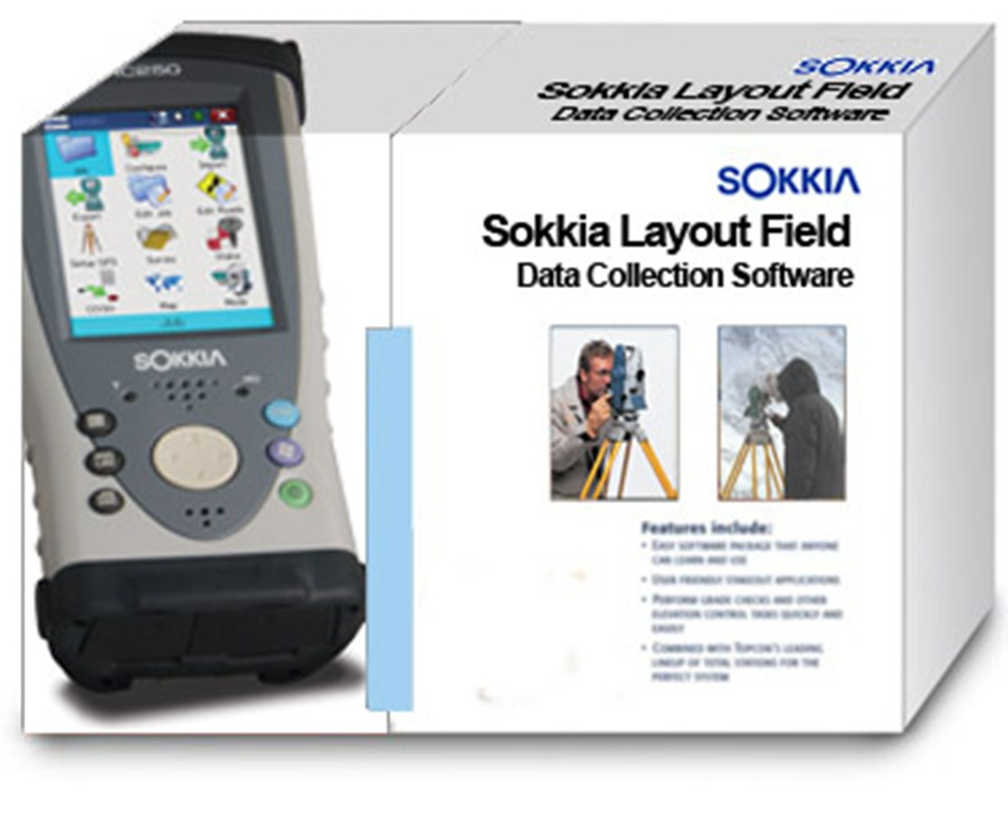 Sokkia Layout Field and Layout Office Software Kits SOK-SW-