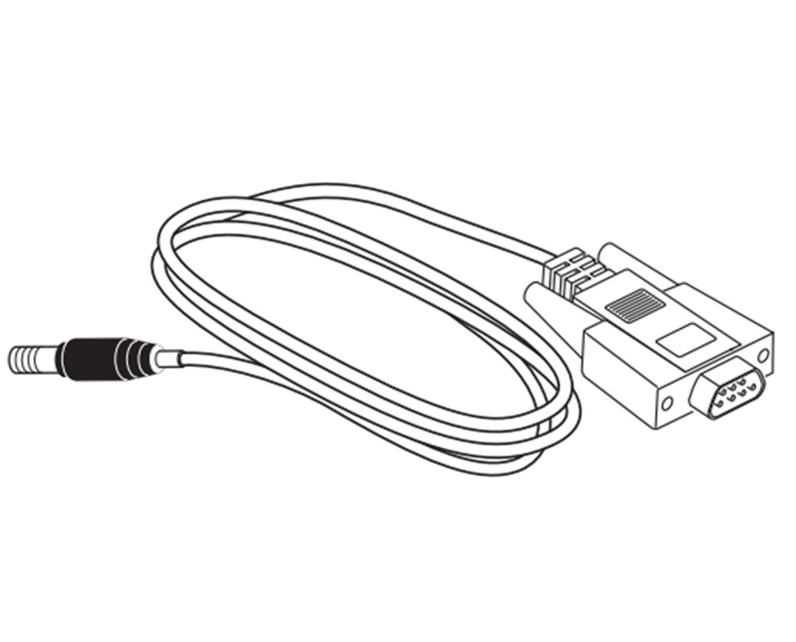 Interface cable ‐ GRX1 to PC 9‐pin Serial SOK72692