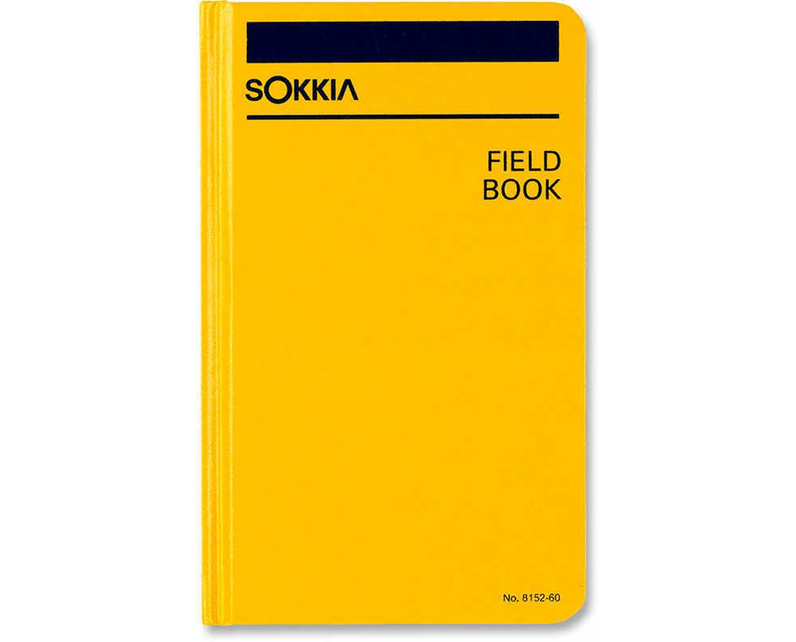 Sokkia Hardcover Field Book SOK815260