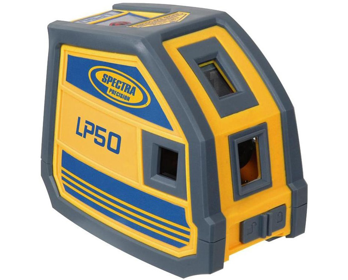 Spectra LP50 5-Point Laser Level