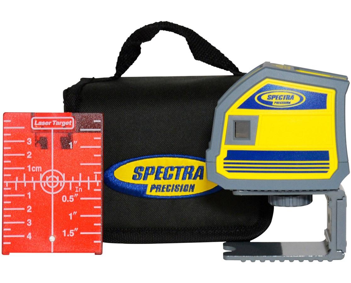 Spectra Lp51 5 Point Red Beam Laser Level Tiger Supplies