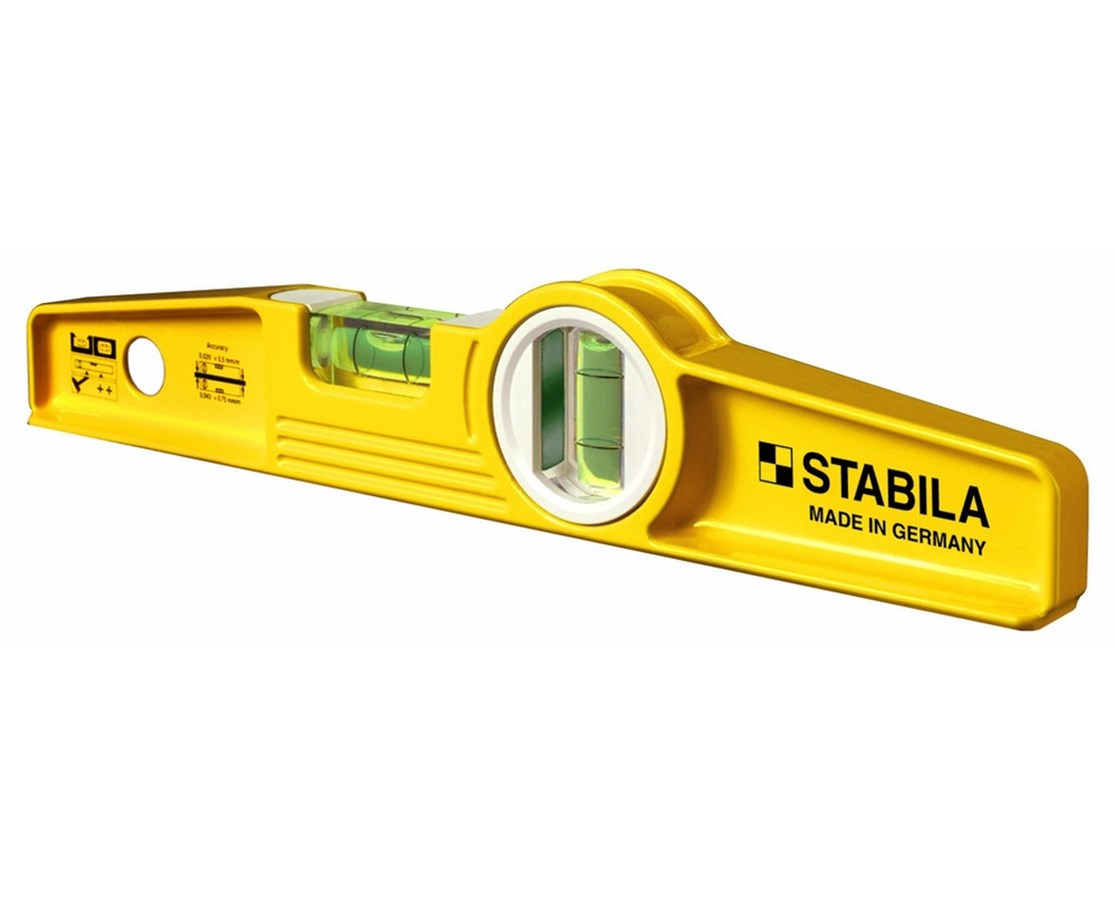 Stabila 81S Die Cast Torpedo Level STA25XXX