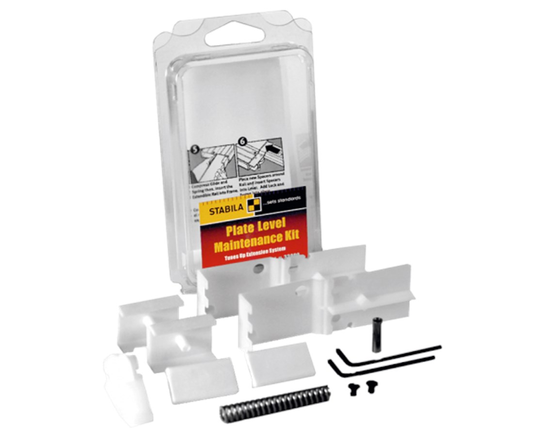 Maintenance Kit for Stabila 106T Plate and XTL Levels STA33000