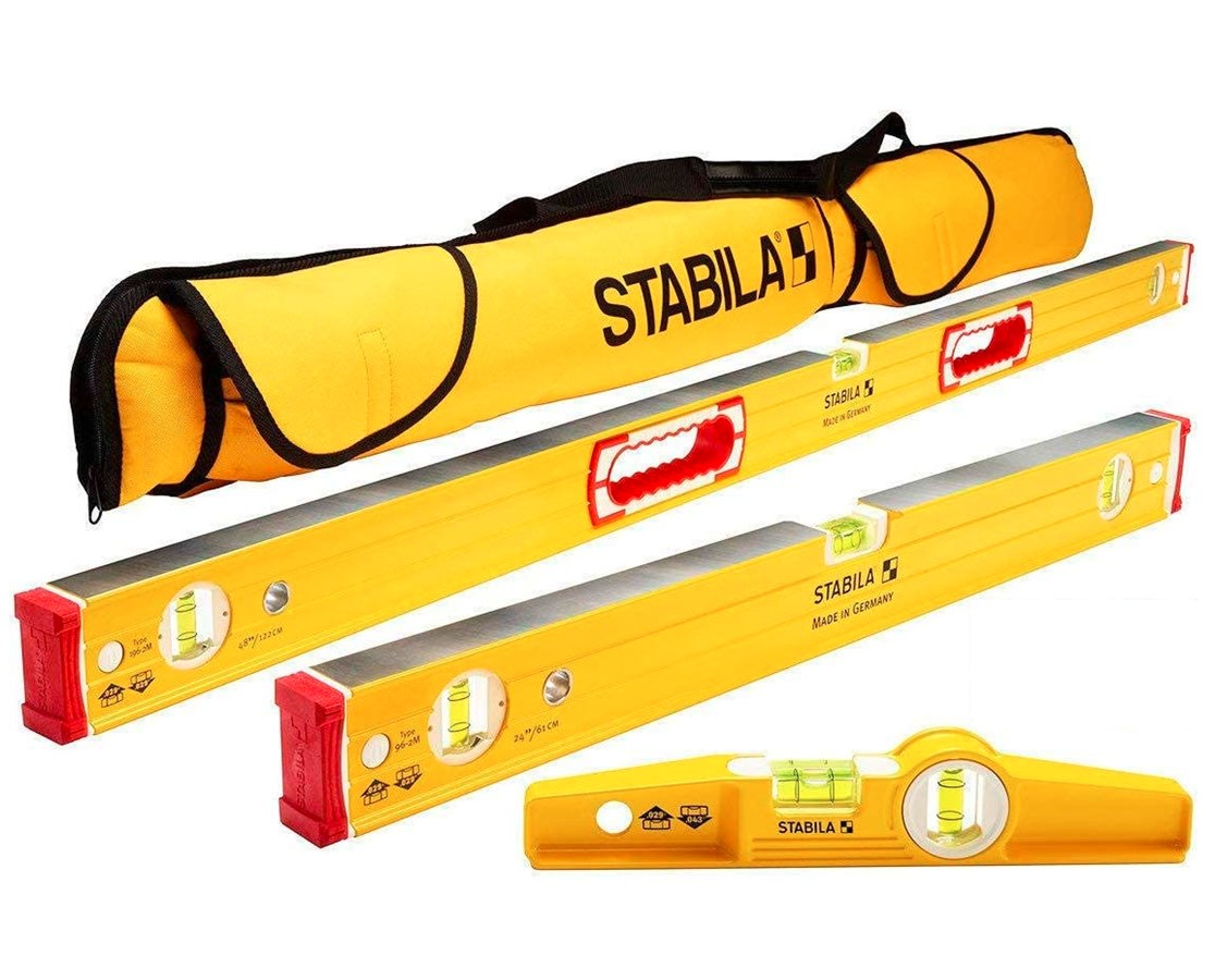 "48""/24""/10"" Type 96M Magnetic Level Set with Case STA48380"