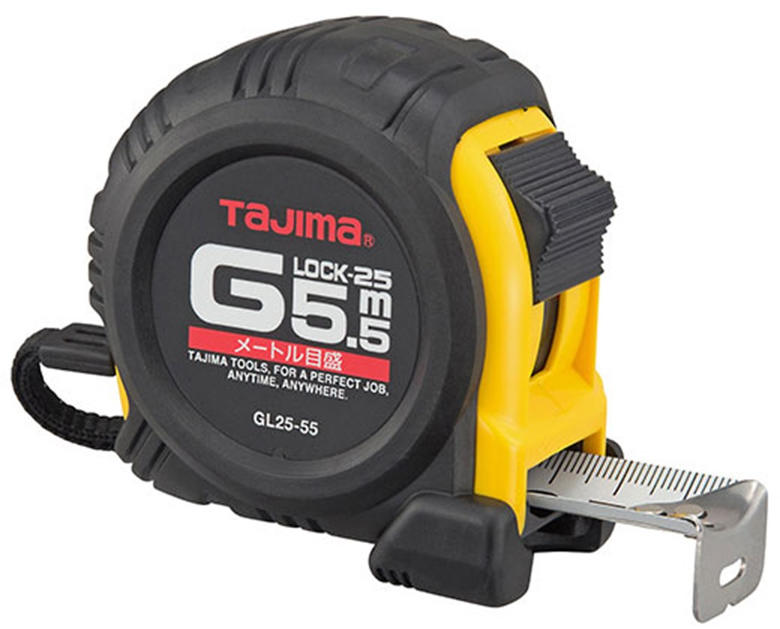 Tajima G-Series Shock Resistant Metric Scale Tape Measure