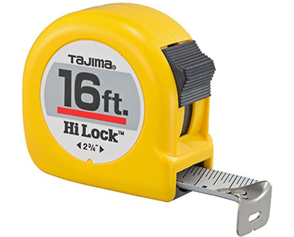 Tajima Hi-Lock Standard Scale Tape Measure TAJHL-16BW-