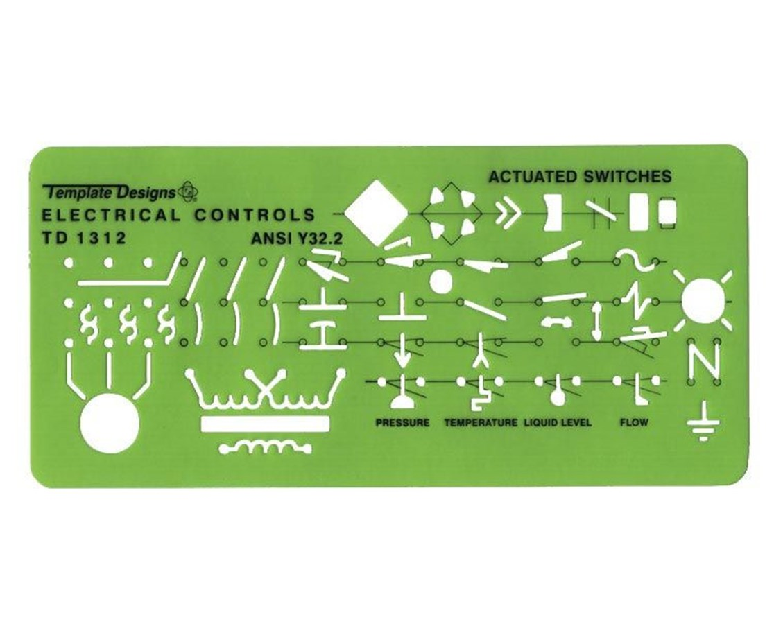 Alvin Electrical Controls Template TD1312