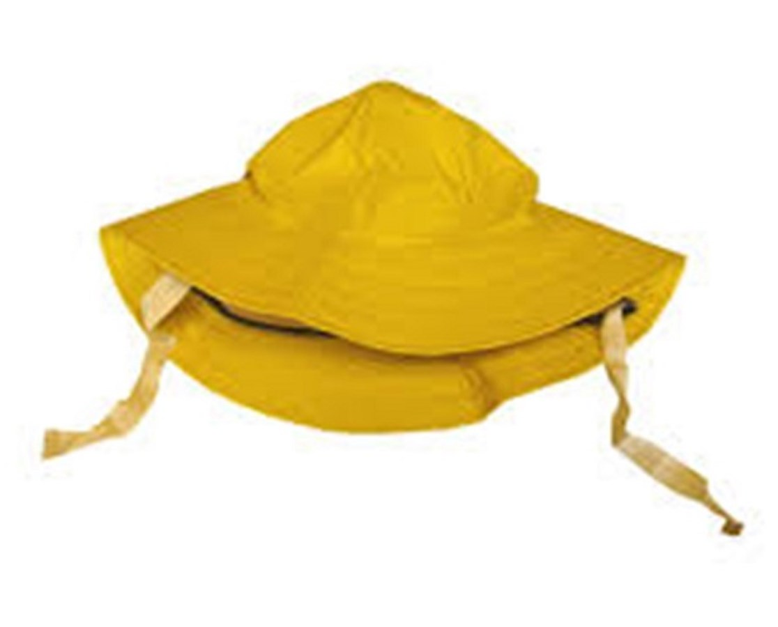 Yellow Lined Hat - Ear Flaps - Chin Strap TINH53237