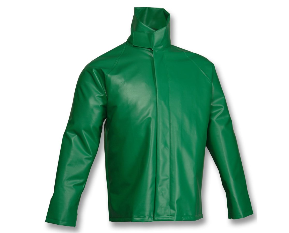 ACID SUIT - Green Jacket - Storm Fly Front TINJ41008