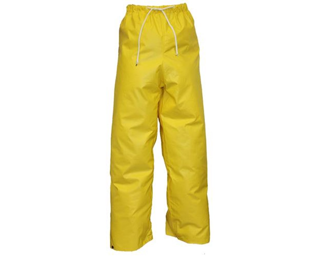 Flame Resistant Yellow Pants with Plain Front TINP56007