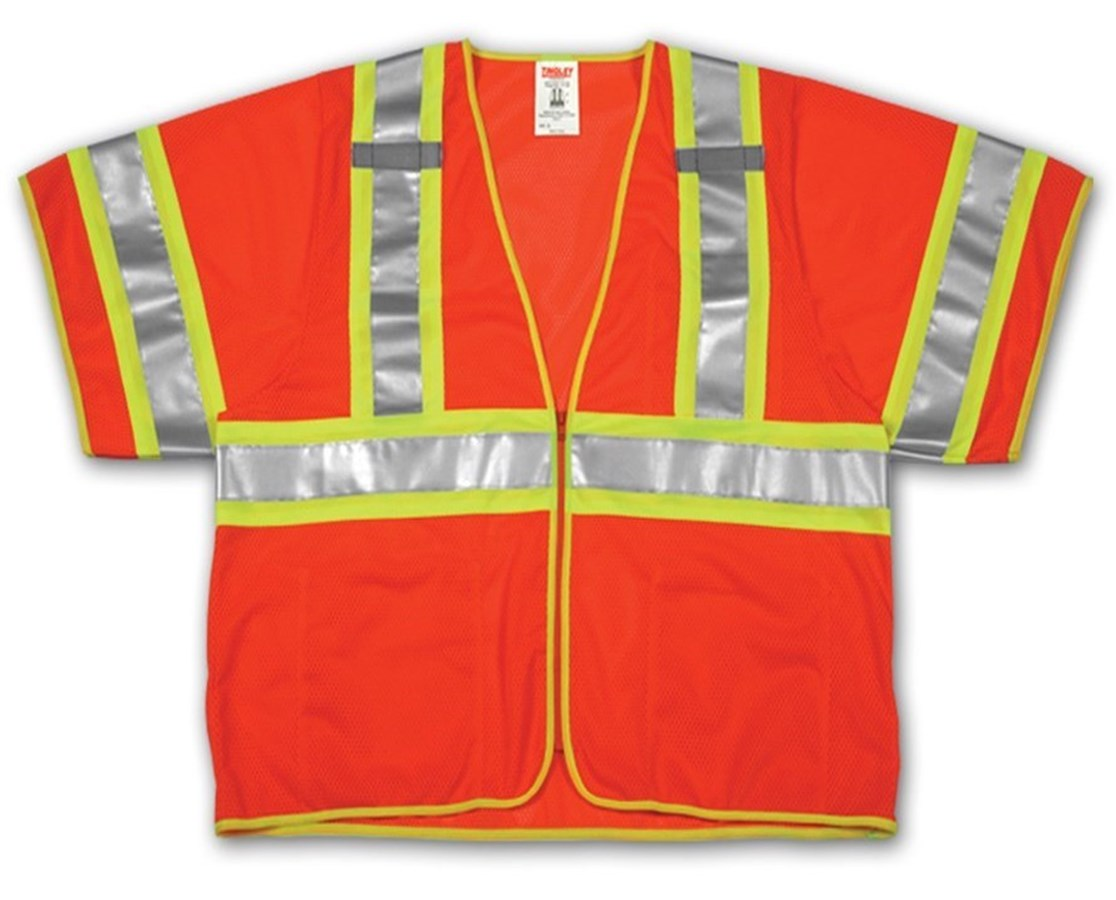 High Visibility Two - Tone Safety Vest