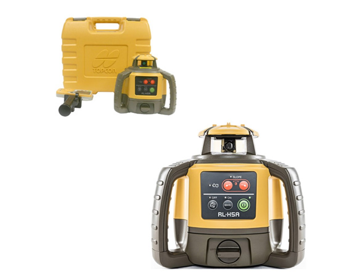 Topcon RL-H5A Horizontal Self-Leveling Rotary Laser TOP1021200-07-