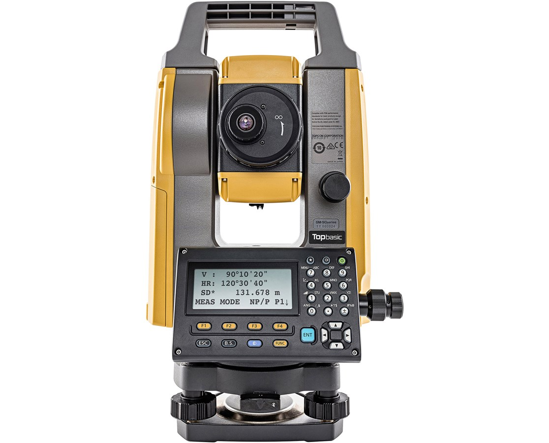 Topcon GM-50 Series Reflectorless Total Station TOP1023562-03-