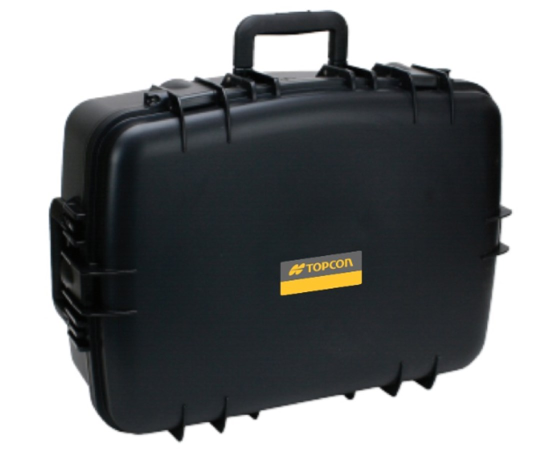 Large Hard Carrying Case for Topcon FC-5000 Controller & Accessories TOP1026489-01