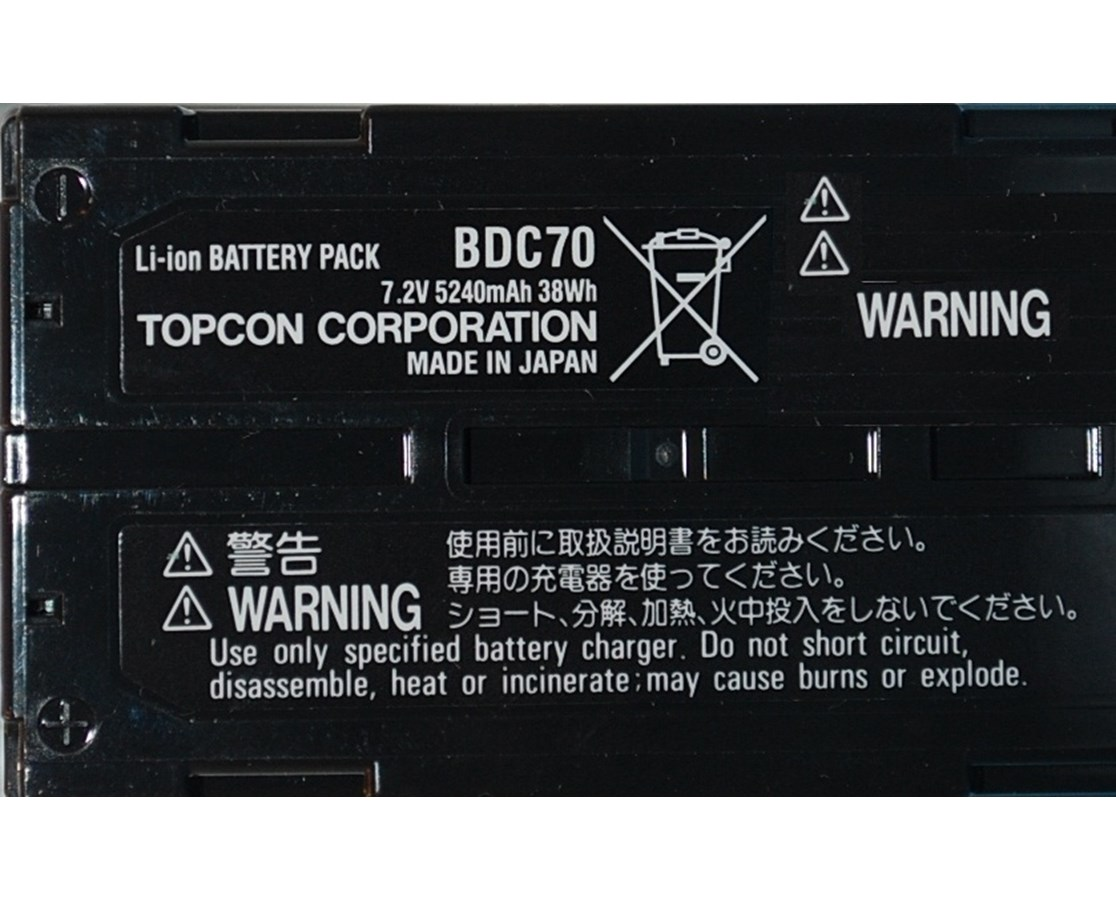 Topcon BDC70 Li-ion Replacement Battery TOP221007000