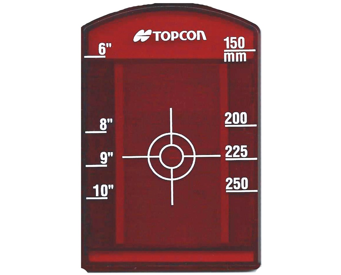 Target for Topcon TP-L5 Series Pipe Lasers TOP329370030-