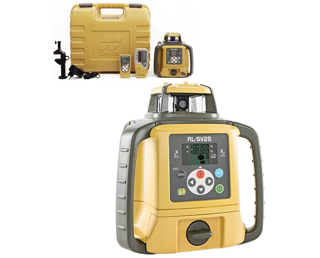 Topcon Rl Sv2s Dual Grade Laser Tiger Supplies