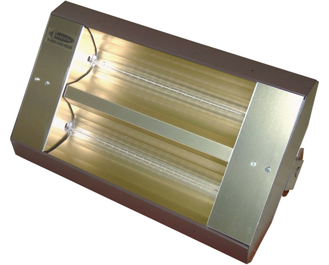 TPI TH & THSS Series Mul-T-Mount Electric Infrared Heater with 2 Lamps TPI222A30TH208V-
