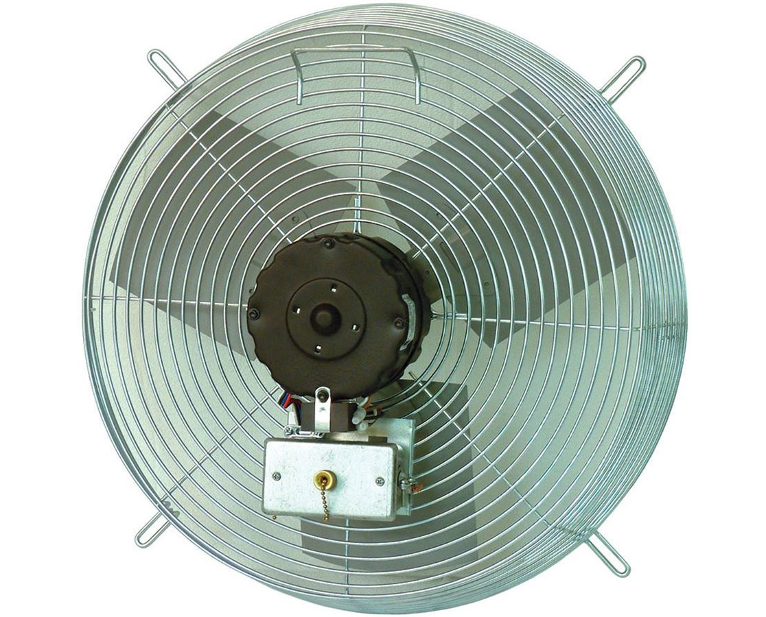 TPI Guard-Mounted Direct Drive Exhaust Fan TPICE10D-