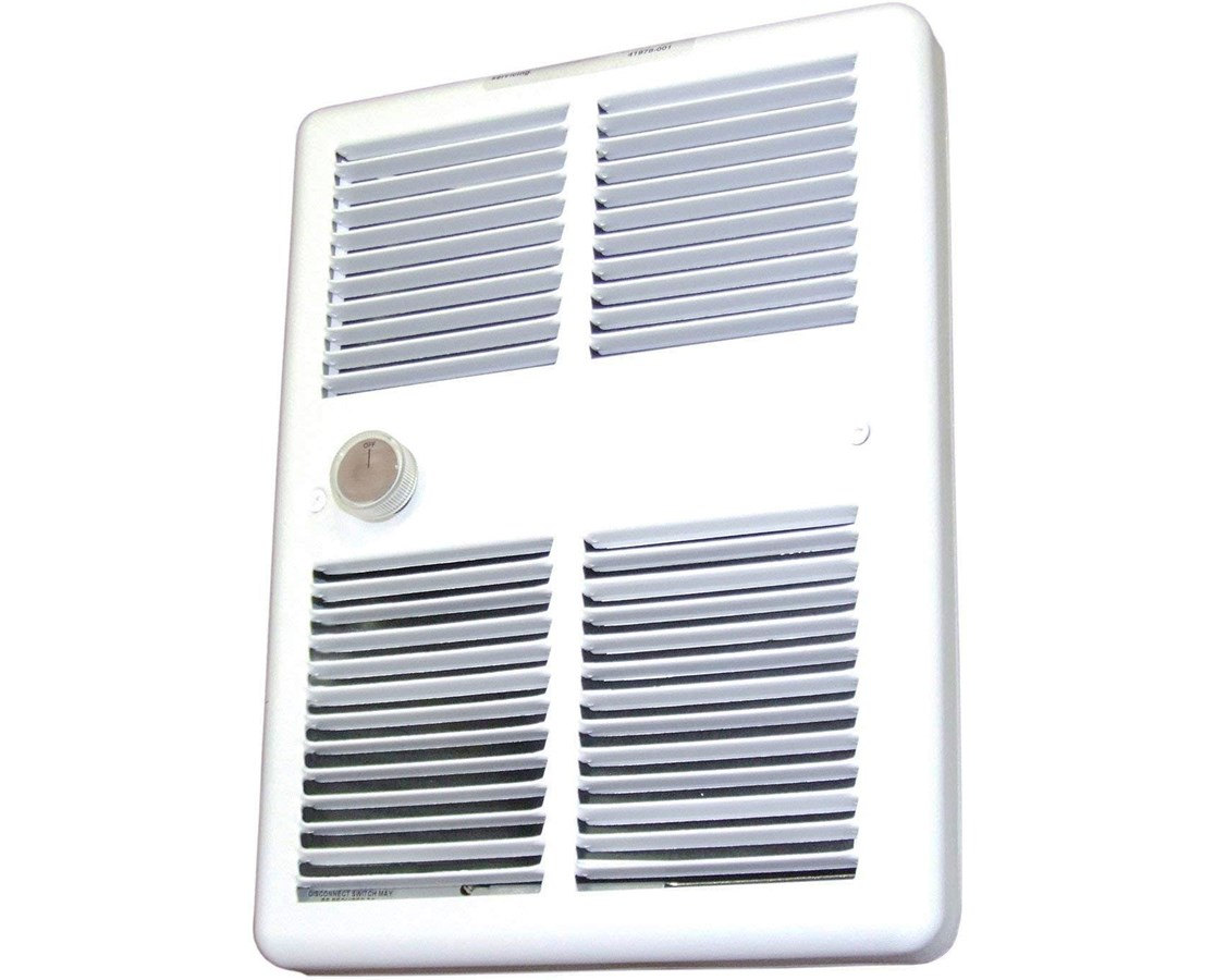 TPI 3200 Series Midsized Fan-Forced Wall Heater with Wall Box TPIE3210RPW-
