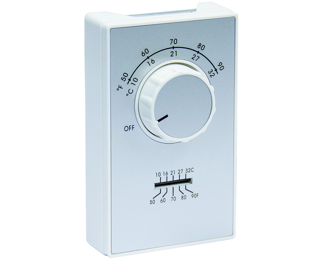 TPI ET9 Series Line Voltage Room Thermostat w/ Thermometer TPIET9SRTS-