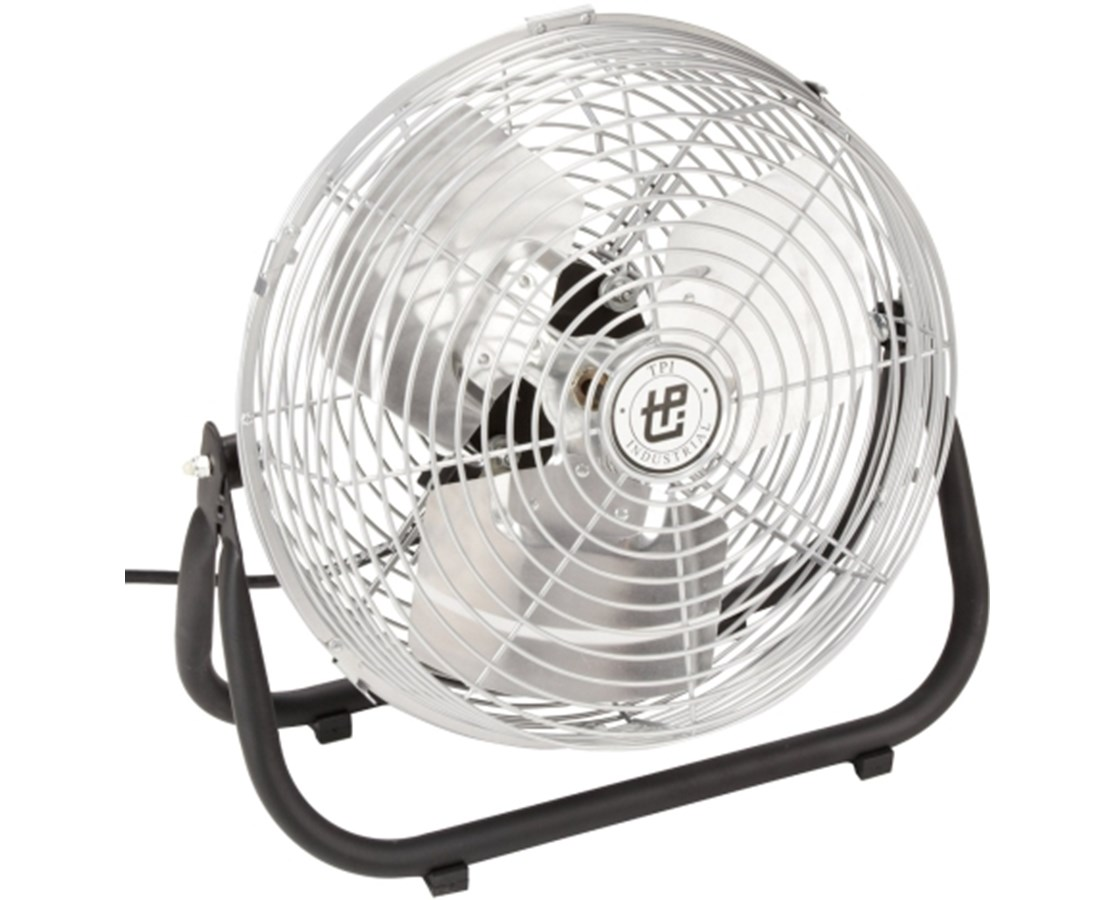 TPI Industrial Workstation Floor Fan TPIF12TE-
