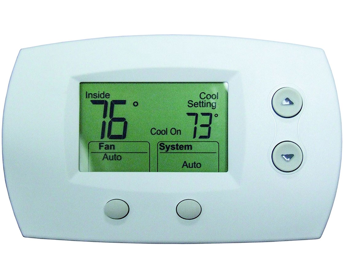TPI 2 Stage Heat Cool Low Voltage Programmable Thermostat TPITW123