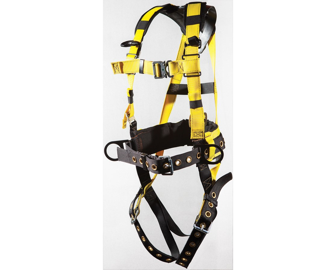 Ultra-Safe Ironworker's Harness with Mini-X ULT96396BQLMX-