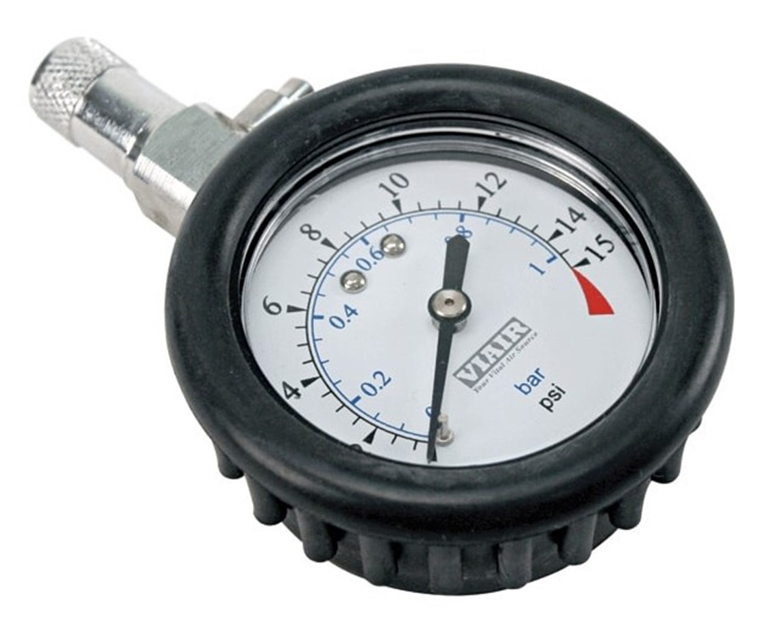 Viair 2.0-Inch Tire Gauge VIA90058-