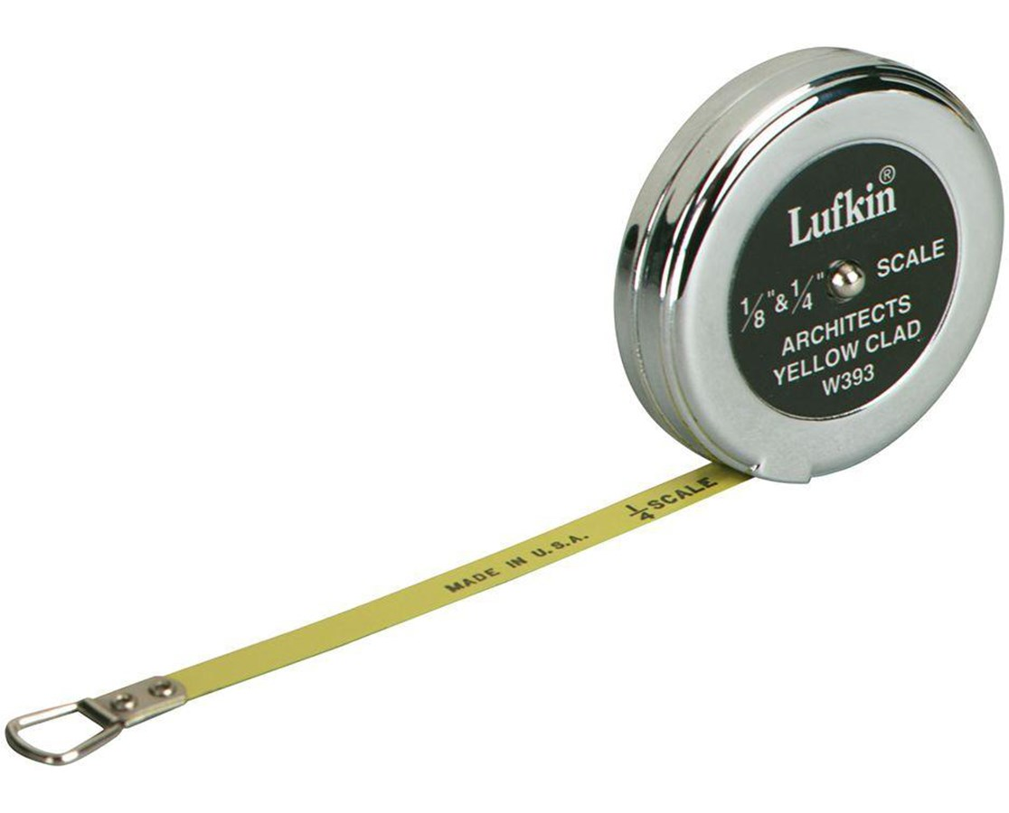 Lufkin 5-Foot Estimator's Pocket Tape Measure W393