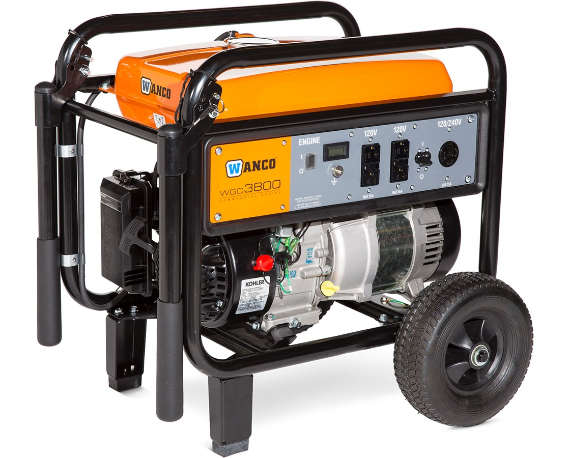 Wanco Portable Gas Generator WANWGC3800-