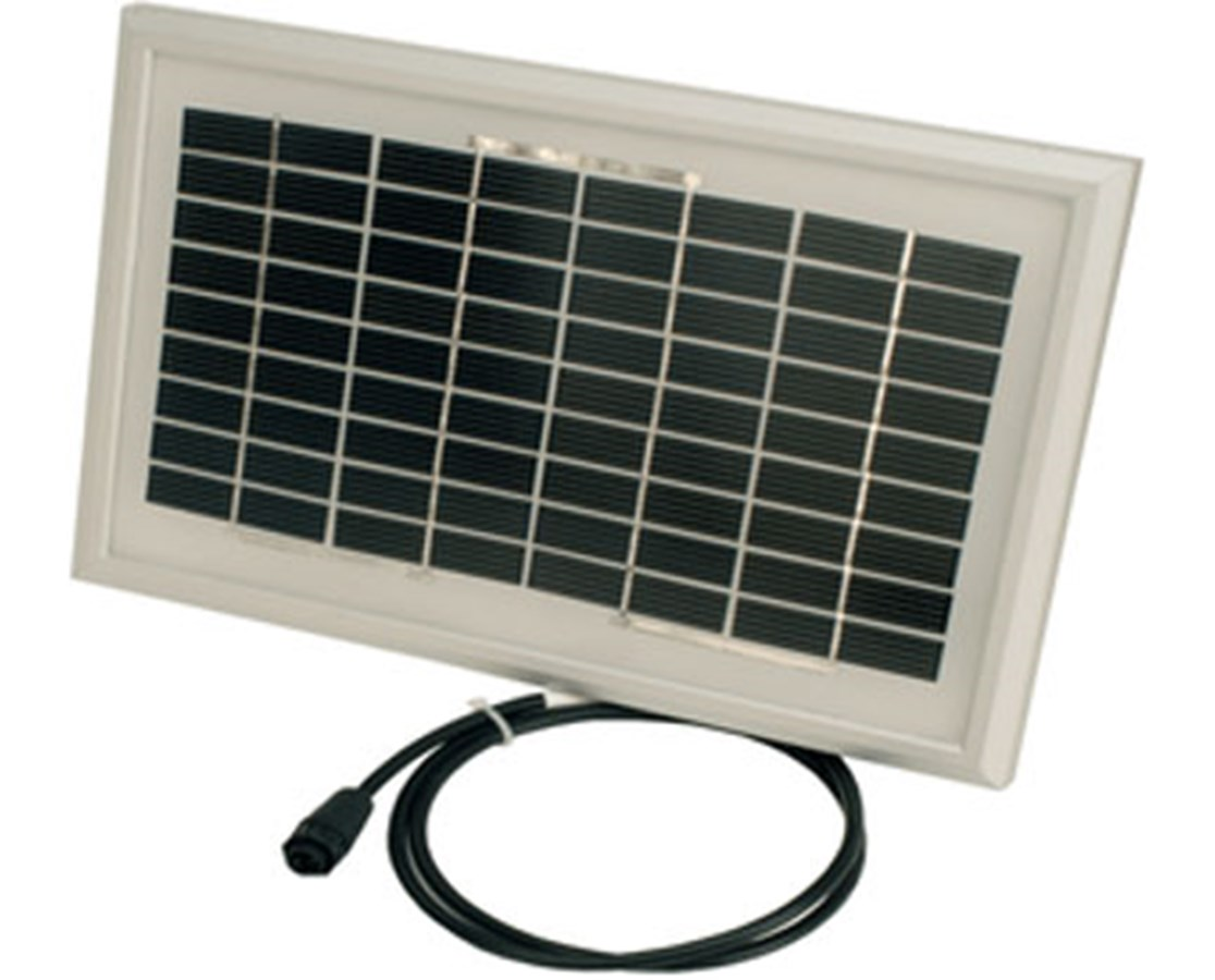 10-Watt Solar Panel for Weatherhawk 600 Series Weather Station WEA17203