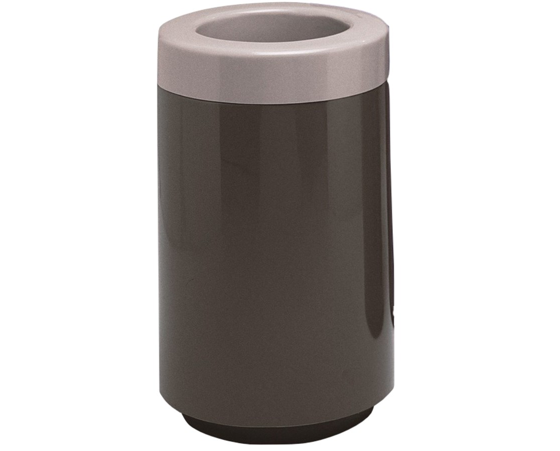 Witt Industries Two-Piece Round Top Entry Fiberglass Waste Receptacle