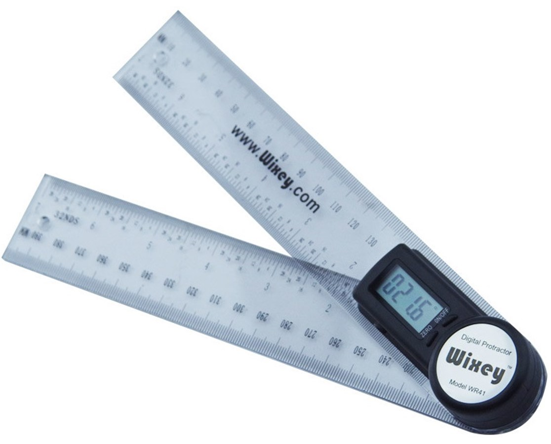 Wixey WR41 Eight-Inch Digital Protractor/Rule WIXWR41