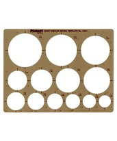 Pickett Giant Circles Template 1201I