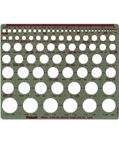 Pickett Small Circles Template 1203I