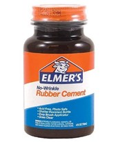 Elmer's No-Wrinkle Rubber Cement E904