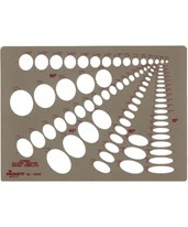 Pickett Combination Ellipse Master Template 1269I