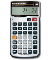 Calculated Industries Measure Master Pro Calculator 4020