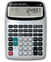 Calculated Industries Qualifier Plus IIIFX Desktop Calculator 43430