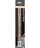 General's Charcoal White Pencil 558-28P