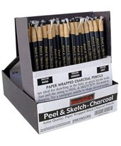 General's Peel & Sketch Paper Wrapped Charcoal Pencil 5631H
