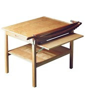 ClassicCut Maple Guillotine Paper Cutter w/ Table Base 8T/B