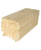 "Surveying Wooden Grade Stakes ¾"" x 1 ½"" (25/Bundle) 0017"
