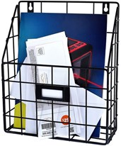 AdirHome Wire Mail Basket 304-01
