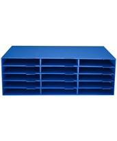 Construction Paper File Organizer 501-15-CP-BLU