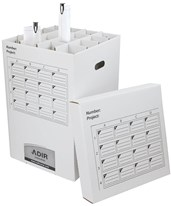 Adir 16-Tube Storage Roll File 622