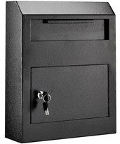 Heavy Duty Secured Drop Box 631-07-BLK
